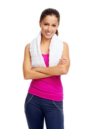 Woman After a Workout